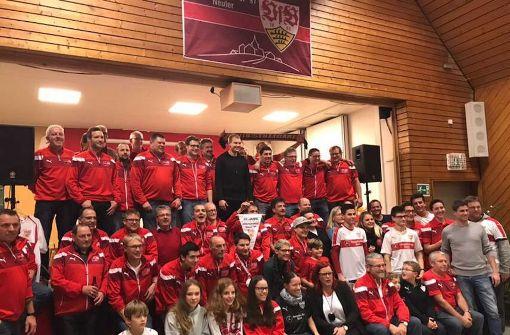 Die VfB-Profis zu Gast bei ihren treuesten Fans