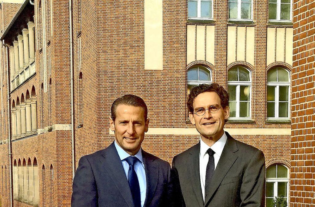 Neues  Führungsduo: Alexander Hewer (links) und Jan Steffen Jürgensen Foto: Stadt Stuttgart