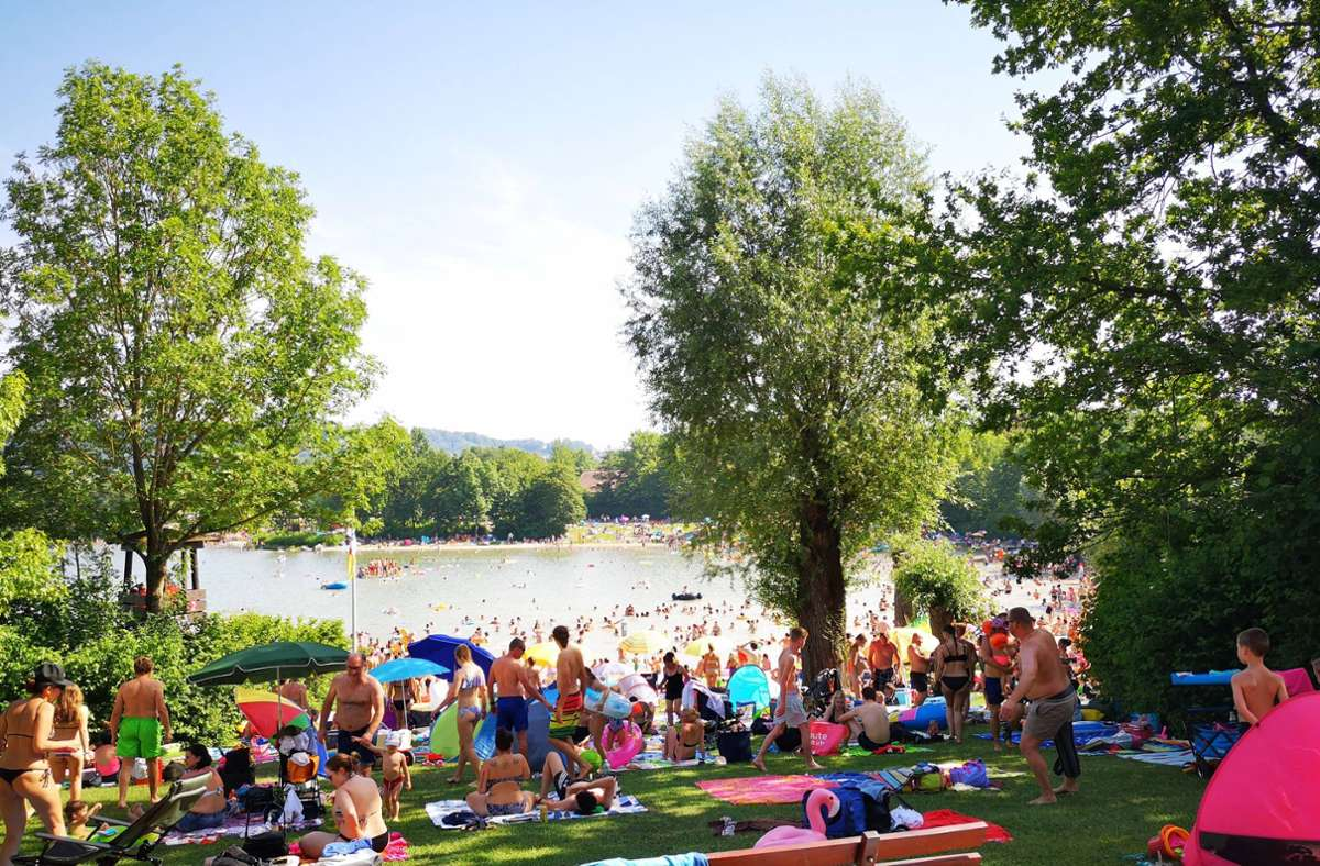 Der Breitenauer See wird gesperrt. (Archivbild) Foto: 7aktuell.de/Mehmet Okatan/www.7aktuell.de/Mehmet Okatan
