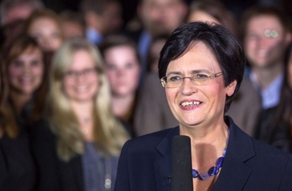 Christine Lieberknecht gibt in Thüringen auf. Foto: dpa