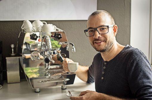 Die Espressomaschine zwingt zur Langsamkeit