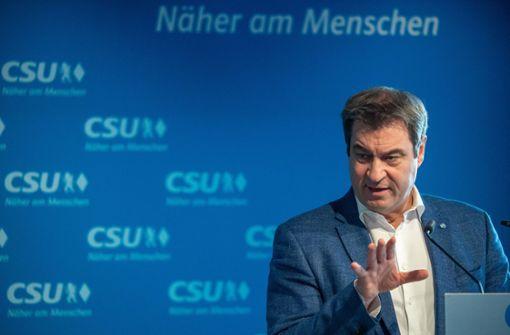 Rückenwind aus Baden-Württemberg für Markus Söder