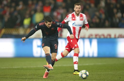 Rekord-Viererpack von Lewandowski  - FC Bayern siegt 6:0