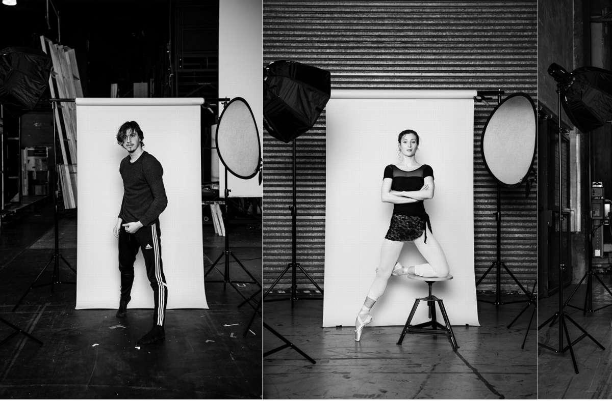 Timoor Afshar und  Jessica Fyfe sind zwei von sieben jungen Choreografie-Talenten, die beim Noverre-Abend neue Ballette zeigen. Foto: SB/Roman Novitzky