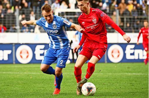 Stuttgarter Kickers gegen VfB II: Wer hat am Ende die Nase vorne?