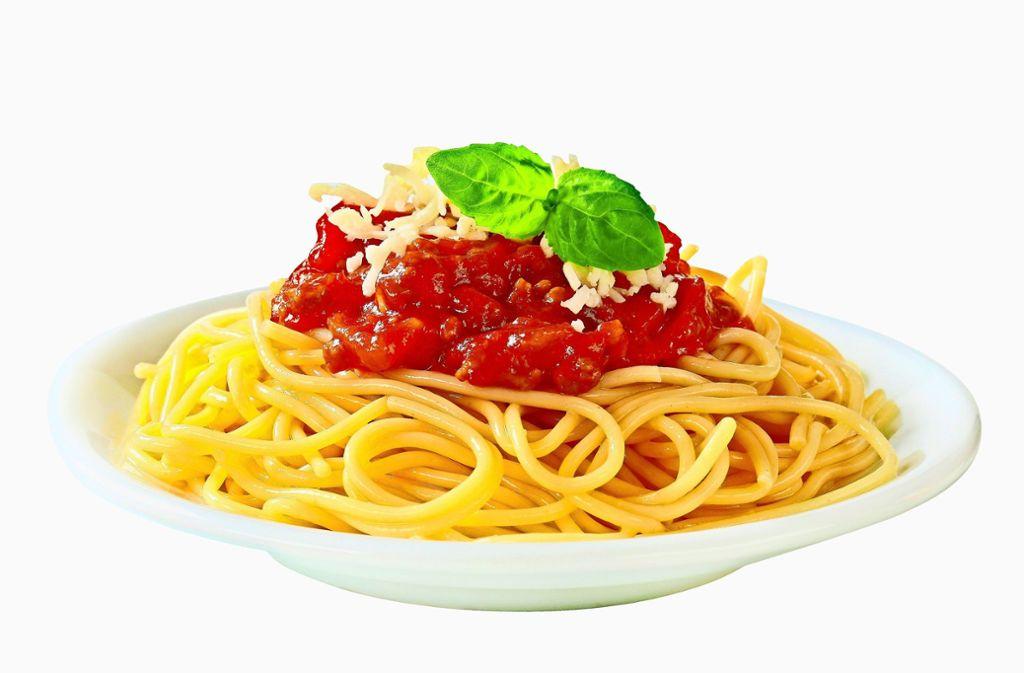Pasta alleine macht nicht dick – mit Tomatensoße schon. Foto: Viktor - stock.adobe.com