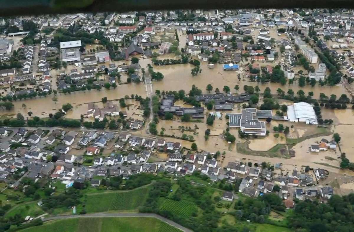 Hochwasserkatastrophe in Bad Neuenahr - Ahrweiler Foto: AFP/FERDINAND MERZBACH