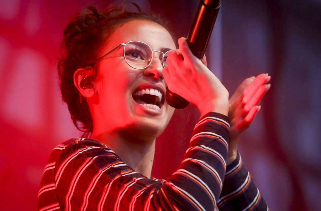 Vor 1500 Fans ist die Sängerin Namika am Montagabend im LKA in Stuttgart-Wangen aufgetreten (Archivbild). Foto: factum/Weise/Simon Granville
