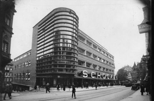 Von zeit zu zeit kaufhaus schocken shoppen an der for Architektur 20er