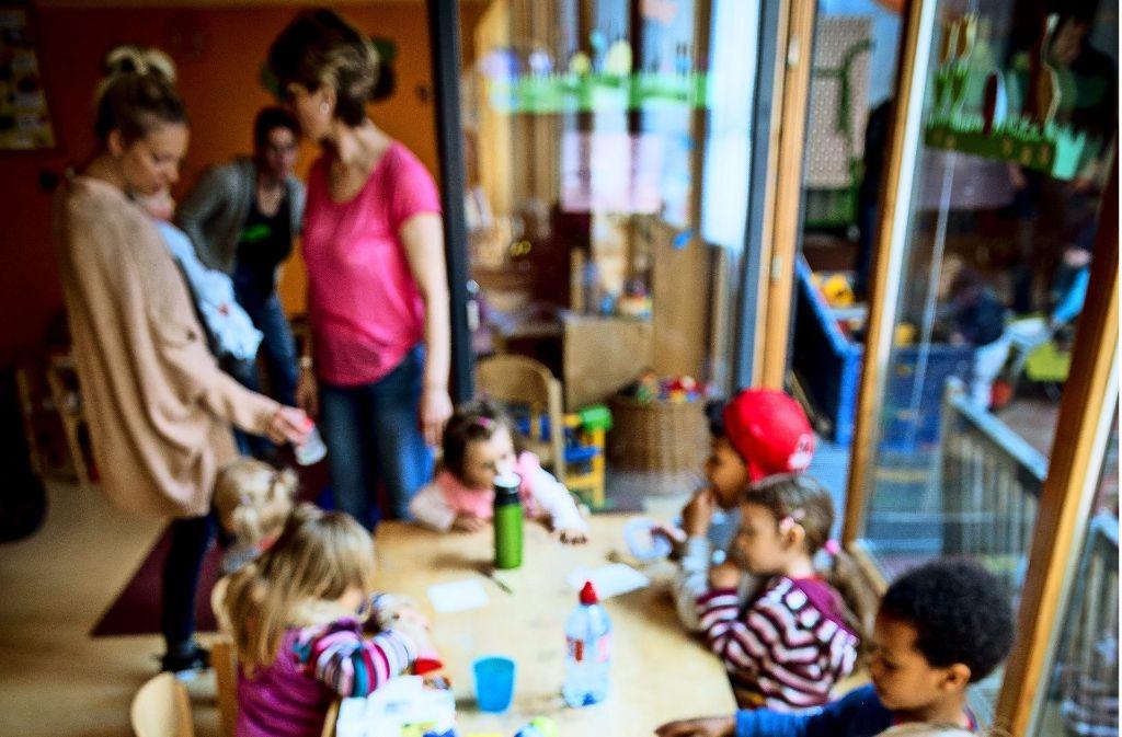 Beim Kita-Streik  nahm das Ekiz spontan Kinder zur Betreuung auf. Foto: Lichtgut/Leif Piechowski