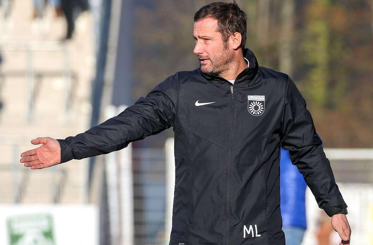 Steigt beim FSV 08 Bissingen als Cheftrainer ein: Markus Lang, bisher Coach der U19 der SG Sonnenhof Großaspach. Foto: Baumann