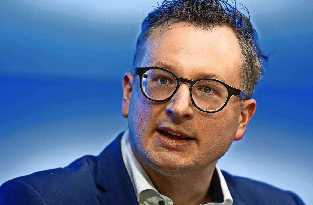 Als Fraktionschef der Grünen im Landtag hat er   über Verkehrsthemen mitverhandelt: Andreas Schwarz. Foto: picture alliance/dpa/Marijan Murat