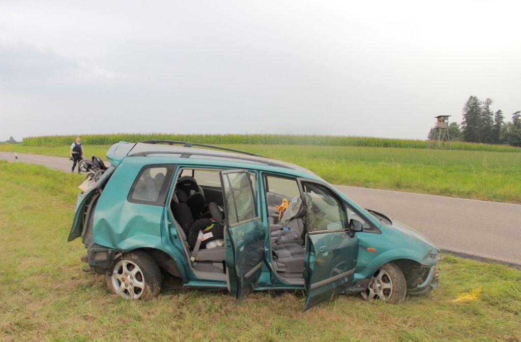 Bei einem Unfall in Kaisersbach sind fünf Menschen verletzt worden. Foto: 7aktuell.de/Welz