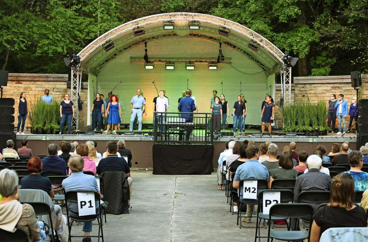 Im Sommer singen  wieder Chöre auf der Freilichtbühne Killesberg. Foto: Frank
