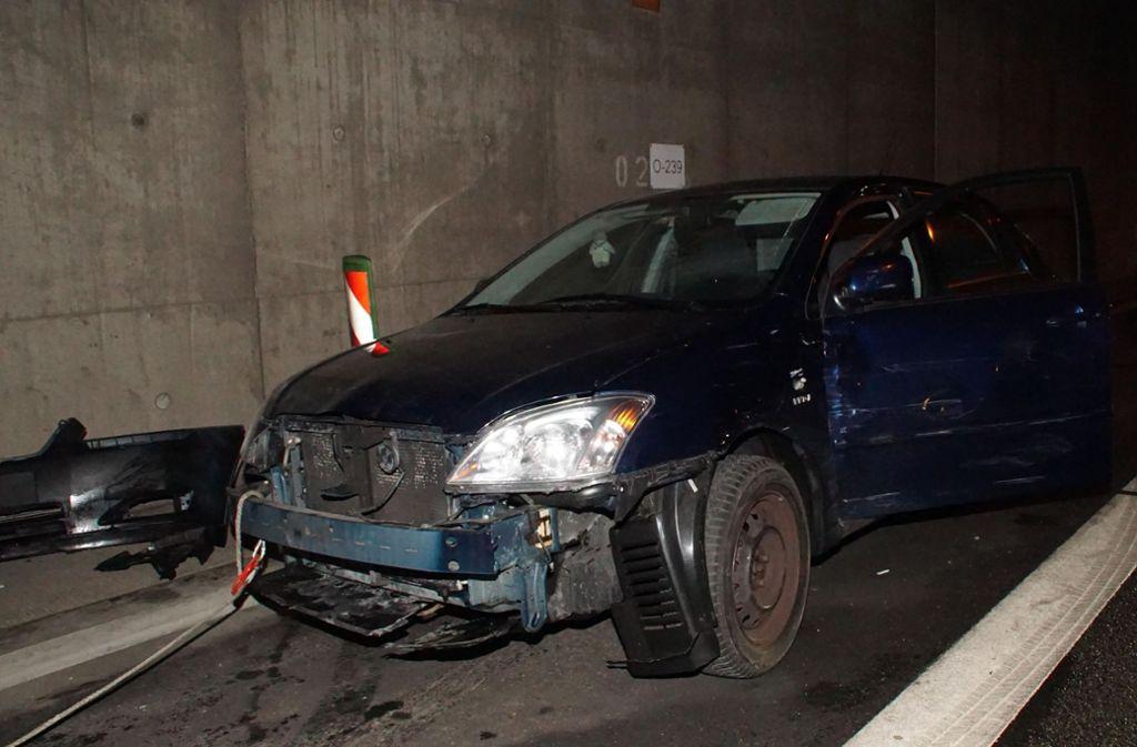 Im Engelbergtunnel ist es am Donnerstag zu einem Unfall gekommen. Foto: SDMG