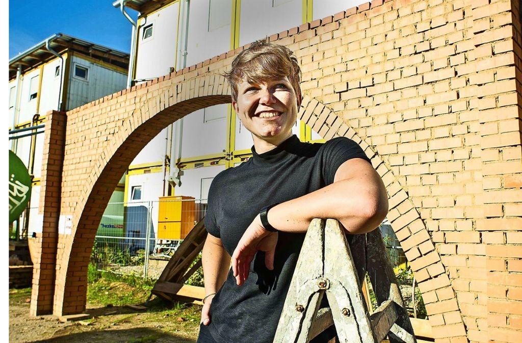 In Simbabwe im Einsatz: Kristina Egbers Foto: dpa/Bernward Loheide