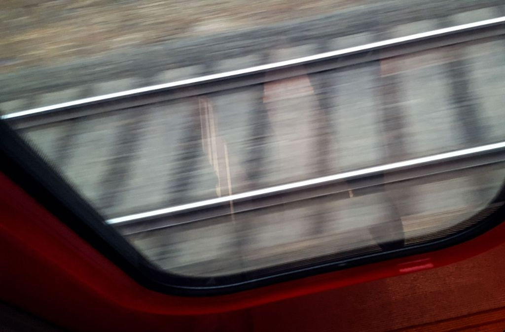 Der Fernverkehr wurde nach Bahnangaben über Aalen (Ostalbkreis) umgeleitet. Foto: Lichtgut/Max Kovalenko