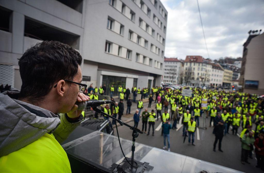 Joannis Sakkaros und seine Mitstreiter denken über eine eigene Kandidatenliste nach. Foto: Lg/Kovalenko (Archiv)