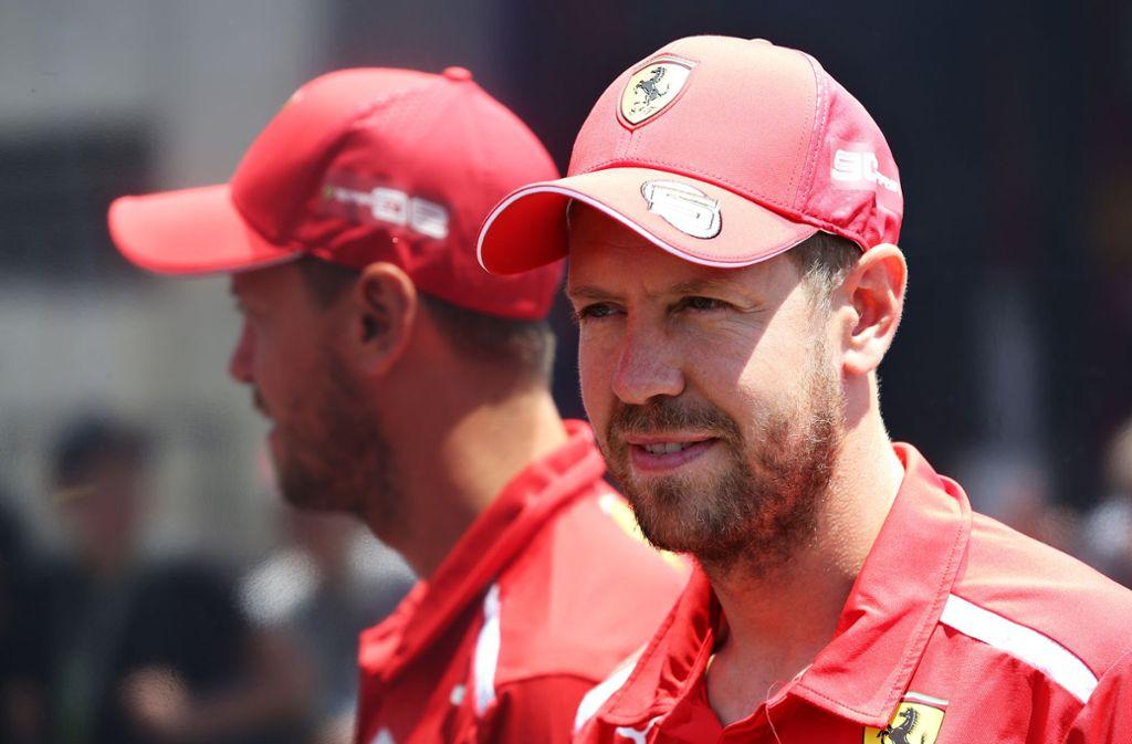 Sebastian Vettel steht beim Formel-1-Gastspiel in Frankreich voll im Mittelpunkt. Foto: Getty Images
