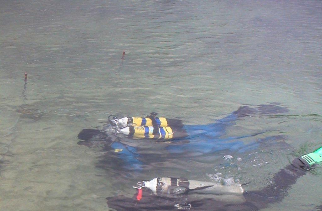 Bei einem Tauchgang im Deglersee kam eine Frau ums Leben (Archivfoto). Foto: dpa