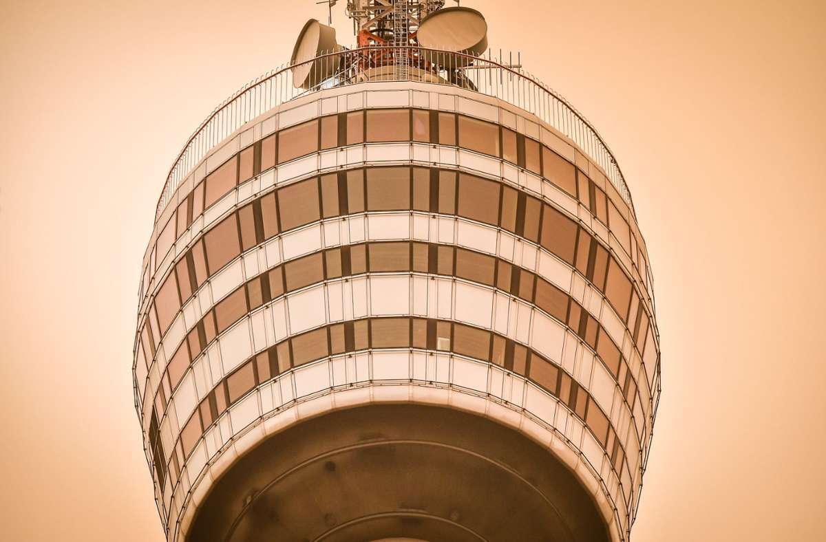 Wann wird das Stuttgarter Nationalheiligtum Fernsehturm endlich ein Weltkulturerbe? Foto: Lichtgut/ Ferdinando Iannone