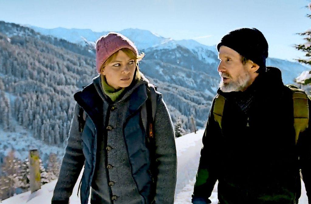 Jördis Triebel als Anne und Ulrich Matthes als Arnold Foto: WDR