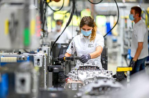 Firmen erwarten geringes Wachstum