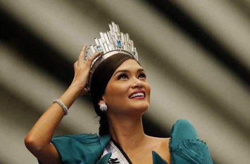 Manila feiert in Stuttgart geborene Schönheitskönigin