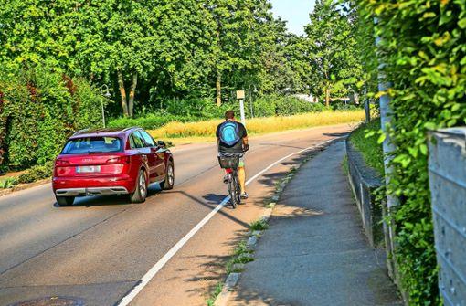 """""""Gefährlicher Radweg"""""""