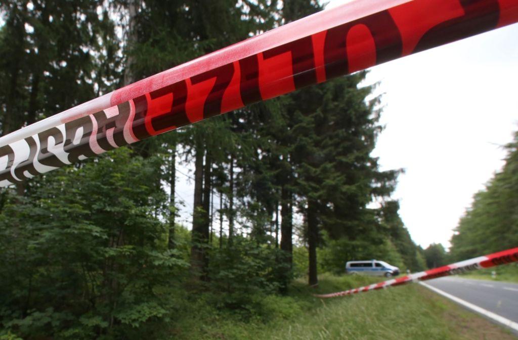 Am Fundort von Peggys Leiche wurden nun DNA-Spuren des mutmaßlichen NSU-Terroristen Uwe Böhnhardt gefunden. (Archivbild) Foto: dpa