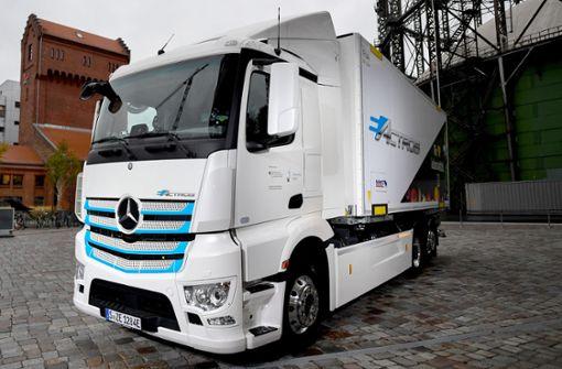 Daimler will Diesel bei Lkw und Bussen abschaffen