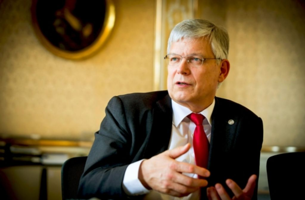 Rektor Stephan Dabbert sieht Nachholbedarf beim Mittelbau. Foto: Lg/Achim Zweygarth