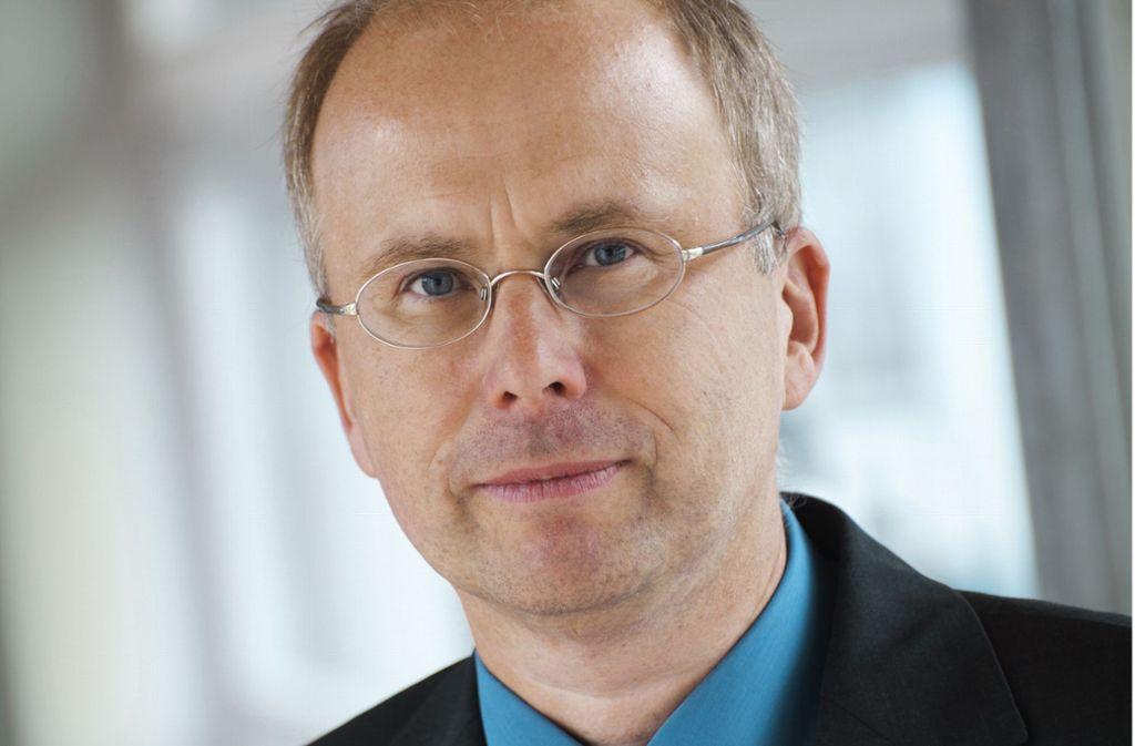 Klaus Dietmayer ist Direktor des Insituts für Mess-, Regel- und Mikrotechnik an der Uni Ulm. Er spricht bei der Leseruni über automatisiertes Fahren. Foto: © Elvira Eberhardt/Elvira Eberhardt