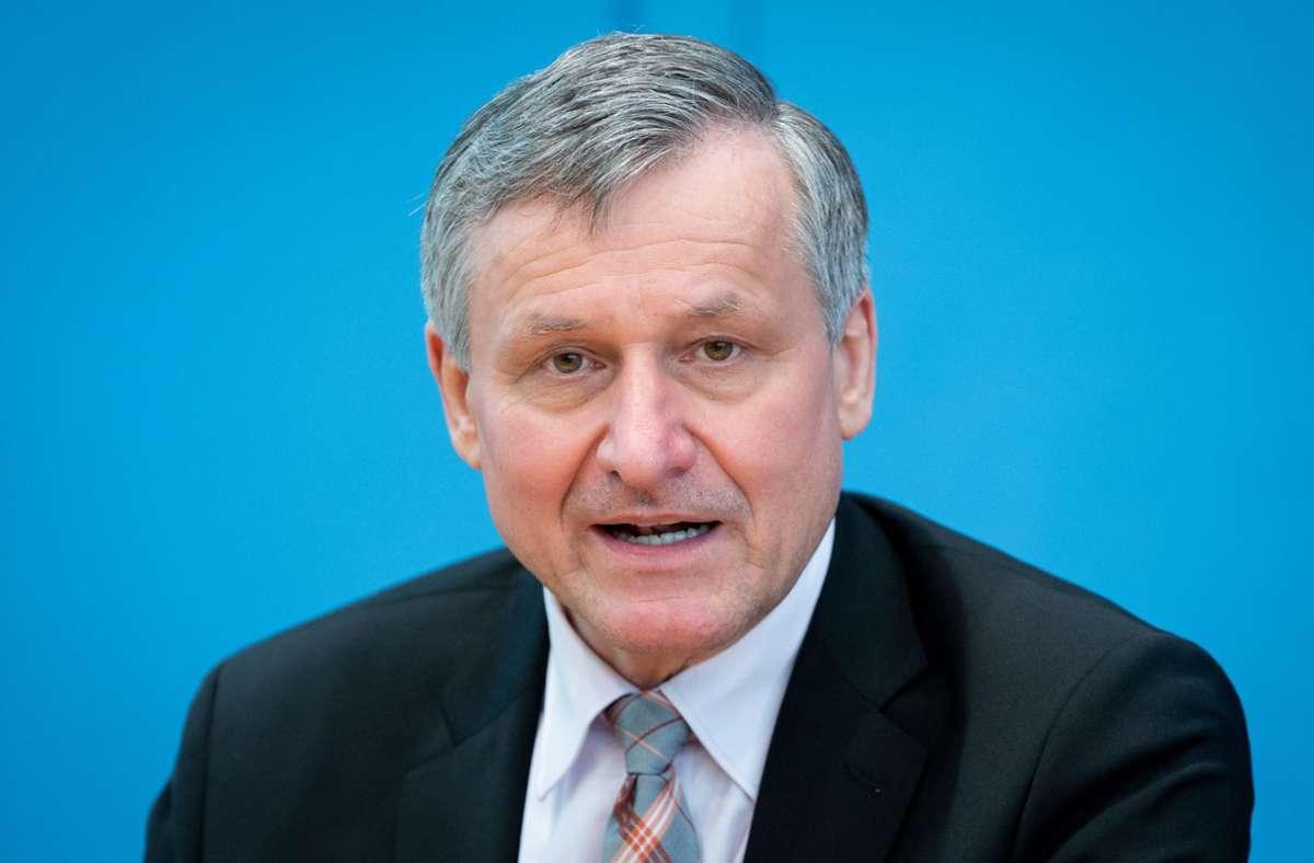 FDP-Fraktionschef Hans-Ulrich Rülke will die Landesregierung in Baden-Württemberg vom Schuldenmachen abhalten. (Archivbild) Foto: dpa/Kay Nietfeld