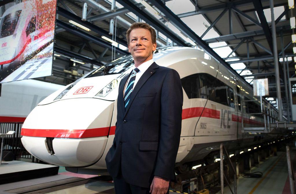 Richard Lutz  ist der Topverdiener bei der Deutschen Bahn. Foto: dpa