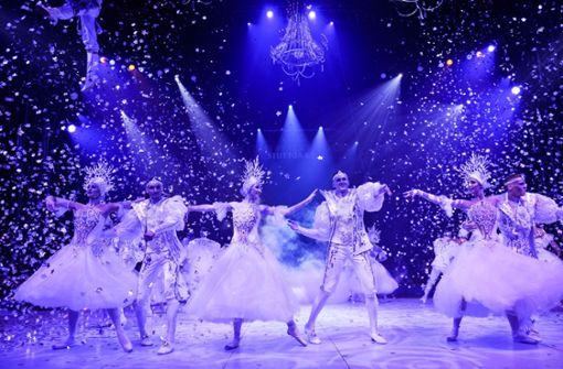Russisches Disneyland begeistert das Publikum