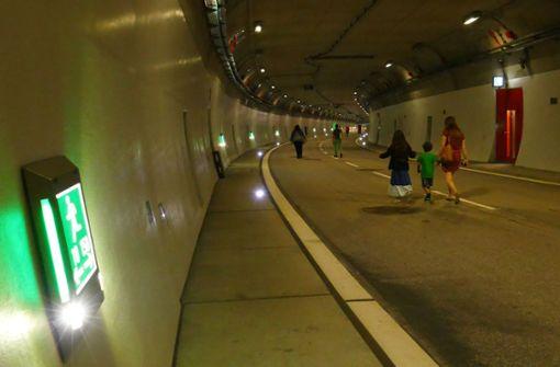 Faszinierende Technik hinter Tunnelwänden