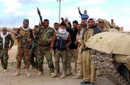 IS-Miliz setzt Zerstörung in Al-Hadra fort