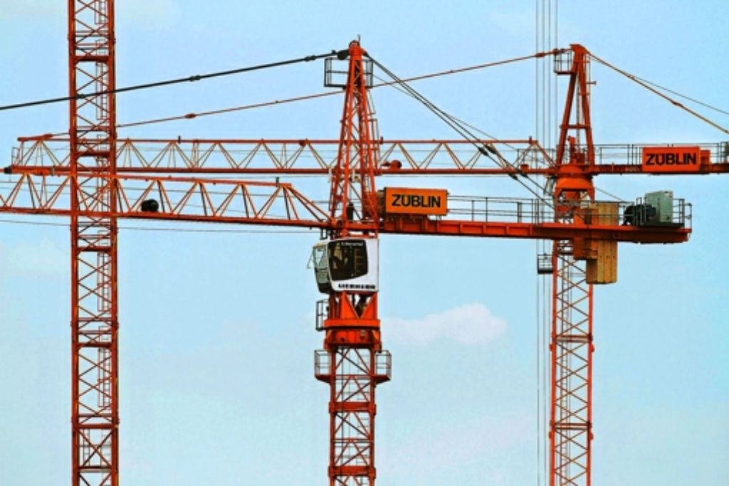 Zwei Bauunternehmen aus der Region haben Großaufträge erhalten. Foto: FACTUM-WEISE