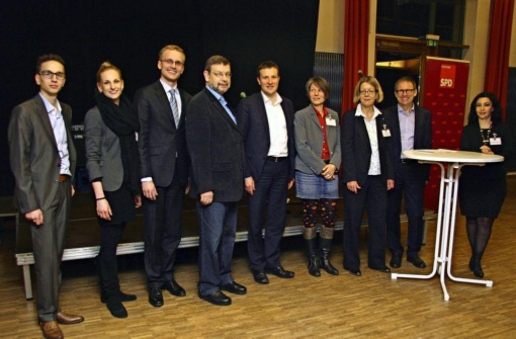 Die SPD Stuttgart-Süd hat bei ihrem Neujahrsempfang über Mieten und Bildung diskutiert. Foto: Wenke Böhm