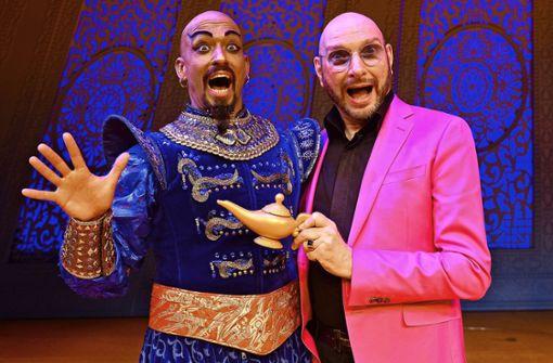"""Wie gut passt das   """"Käpsele"""" in eine  Broadway-Show?"""