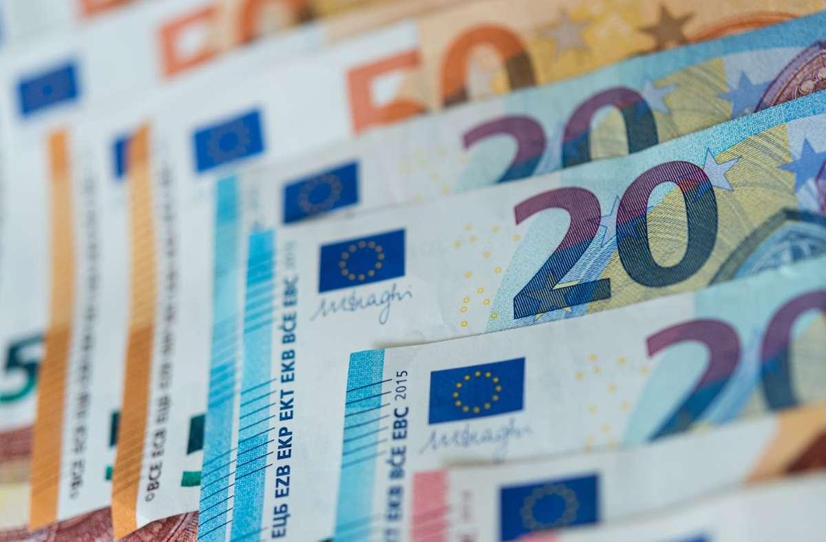 Es geht ums Geld! Foto: dpa/Monika Skolimowska