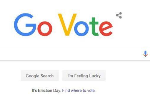 Google ruft die Amerikaner an die Urnen