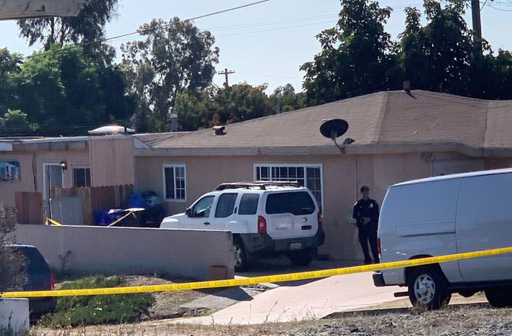 In San Diego ist es zu einer schrecklichen Bluttat gekommen. Foto: AP/Hayne Palmour