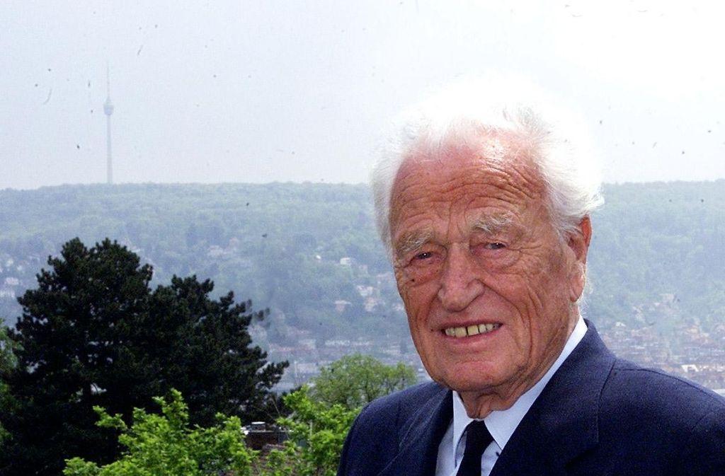 Erwin Heinle, aufgenommen im Mai 2001 Foto: Archiv
