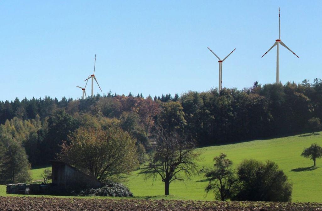Für das Windpark-Projekt auf dem Schurwald sieht es reichlich mau aus. Foto: Stadtwerke Fellbach