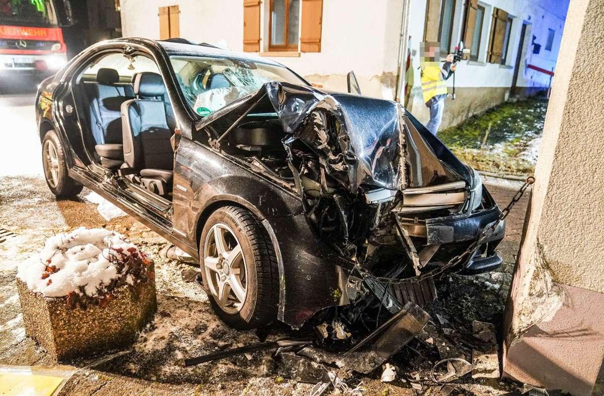 Der Unfall ereignete sich in Uhingen. Foto: SDMG/SDMG / Kohls