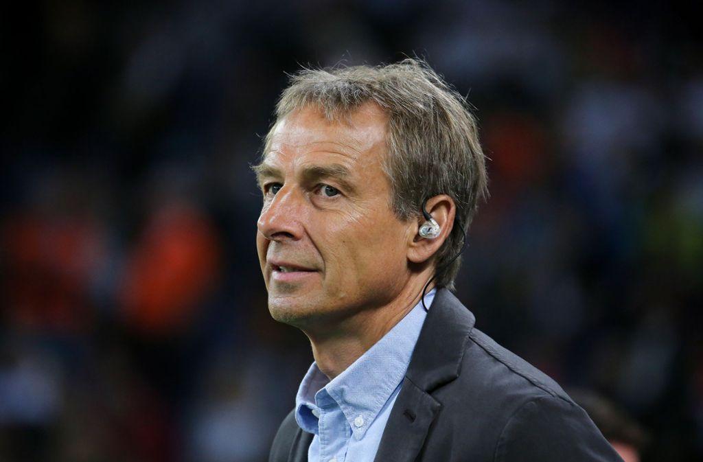 Jürgen Klinsmann hat sich zu seiner VfB-Absage geäußert. Foto: Pressefoto Baumann