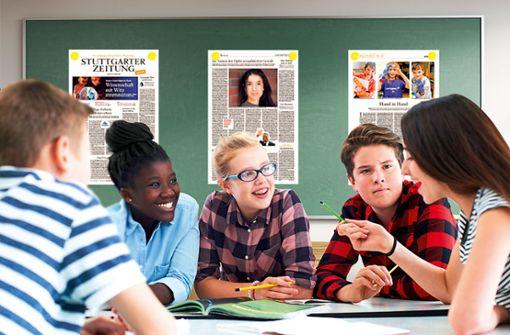 Zeitung in der Schule - jetzt digital!