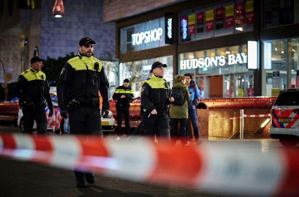 Der Täter hatte am Freitag drei Minderjährige mit einem Messer verletzt. Foto: AP/Phil Nijhuis